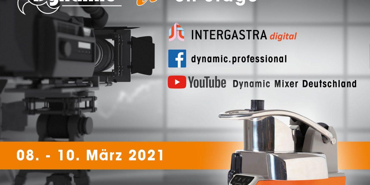 DYNAMIC LIVE ON STAGE 8. bis 10. März 21