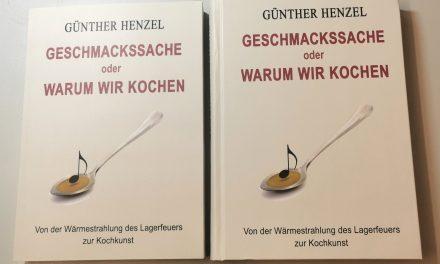 """""""Geschmackssache"""" das Buch von Günther Henzel"""